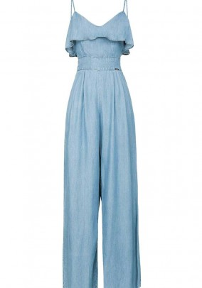 Jeans jumpsuit, blue