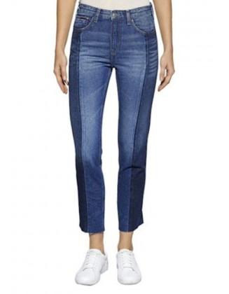 TOMMY JEANS mėlyni džinsai
