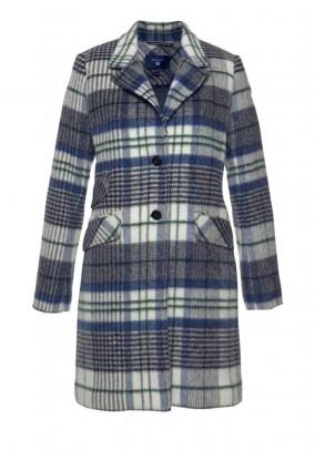Wool coat, multicolour