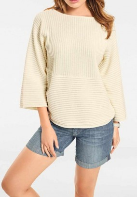 Oversize sweater, offwhite