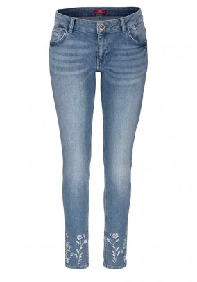 Super skinny jeans, used blue, 30inch
