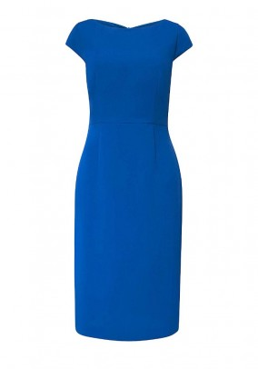Sheath dress, royal blue