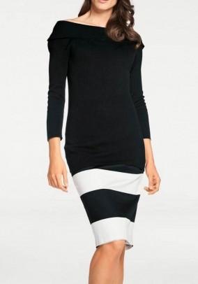 Elegantiškas juodas megztinis