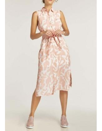 "Midi ilgio suknelė ""Nude"""