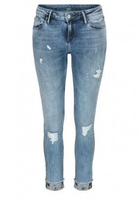 Skinny jeans, blue-used, 34inch