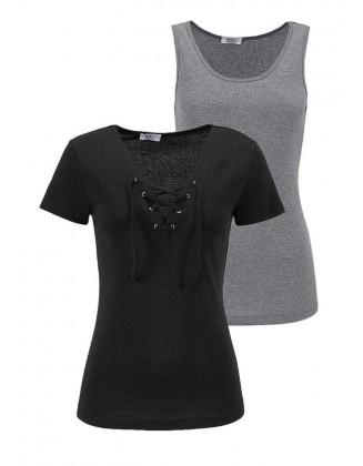 Dviejų marškinėlių komplektas