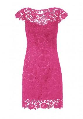 Lace dress, pink