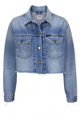 Jeans jacket, blue-used