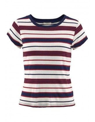 Dryžuoti LEE marškinėliai
