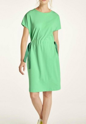 Jersey dress, mint-jade