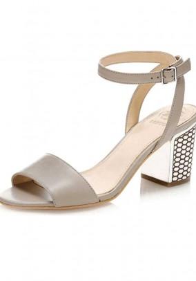 Sandal, taupe grey