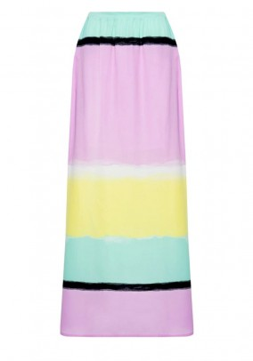 Maxi skirt, multicolour