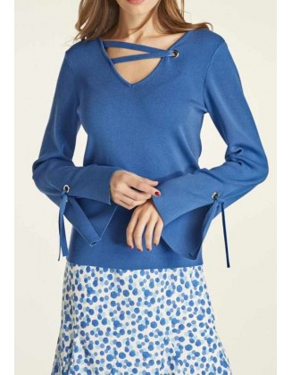 "Mėlynas megztinis ""Siu"""