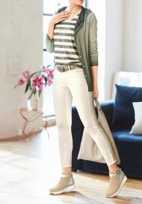Skinny jeans, ecru