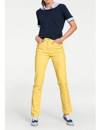 Vasariški geltoni džinsai