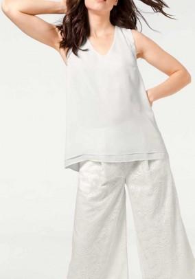 Blouse shirt, white