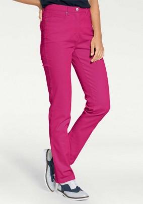 Rožiniai ryškūs džinsai
