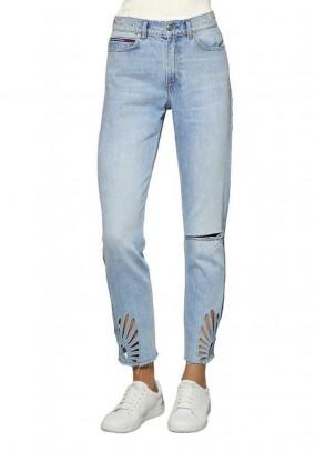 Mėlyni Tommy Jeans džinsai