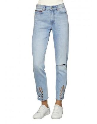Mėlyni Tommy Jeans džinsai (ilgesni)