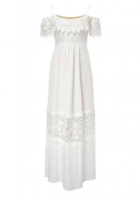Ilga HALLHUBER balta suknelė