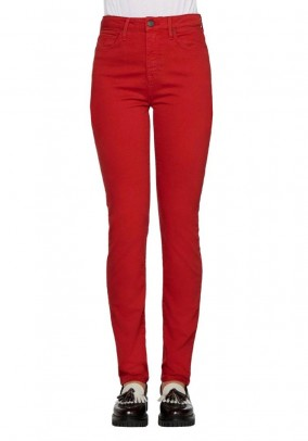 Skinny jeans, red, 32inch