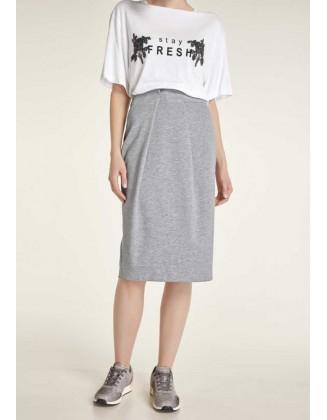 """Pilkas sijonas """"Jersey"""""""