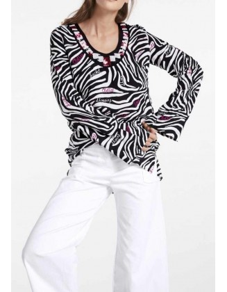 "Gyvūnų rašto tunika ""Zebra"""