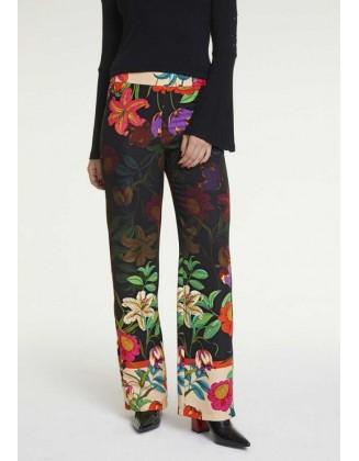 Gėlėtos vasariškos kelnės