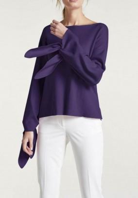 Sweater, dark purple