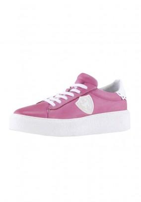 Plateau sneaker, pink