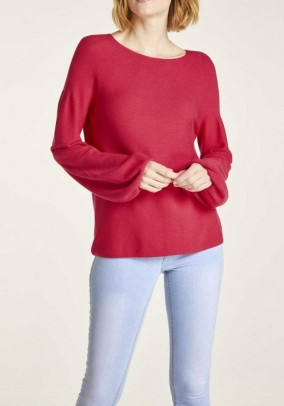 Sweater, red
