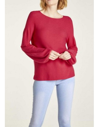 """Raudonas megztinis """"Redy"""""""