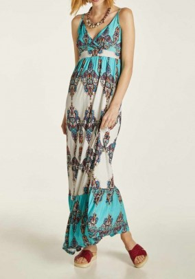 Maxi dress, multicolour