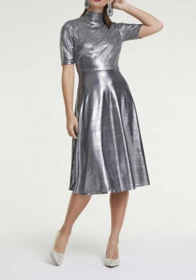 Dress, silver coloured