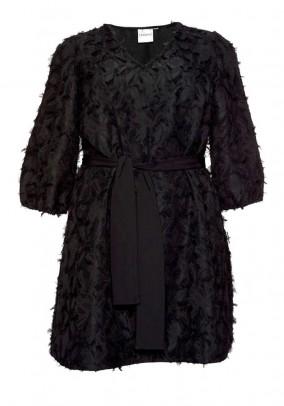 Originali juoda tunika - suknelė
