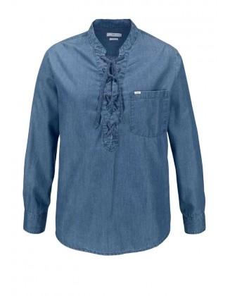 Mėlyni LEE marškiniai