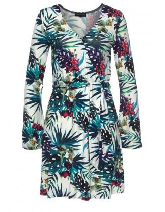Spalvinga Melrose suknelė