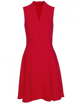 Raudona DANIEL HECHTER suknelė