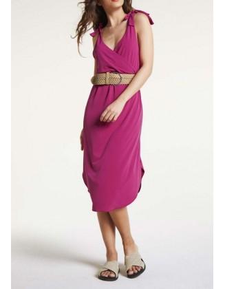 """Rožinė vasarinė suknelė """"Doll"""""""
