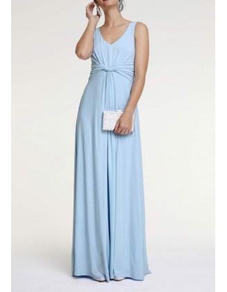 Melsva ilga suknelė