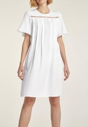 """Balta lininė suknelė """"Perla"""". Liko 36 dydis"""
