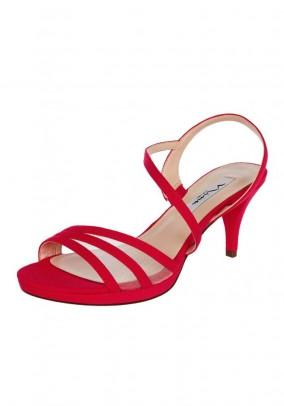 Raudonos Nina New York basutės