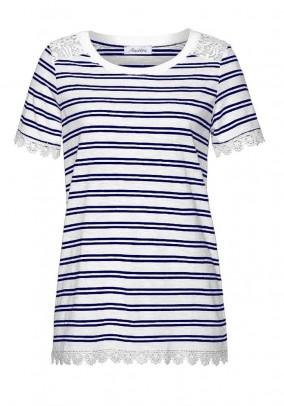 Dryžuoti Aniston marškinėliai