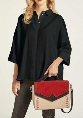 Oversized Blouse, black