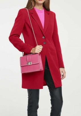 Long blazer, red