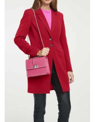 Ilgas raudonas švarkas