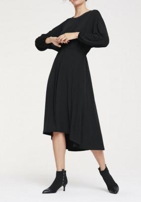 Jersey dress, black