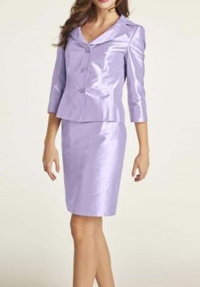 Silk blazer, lavender