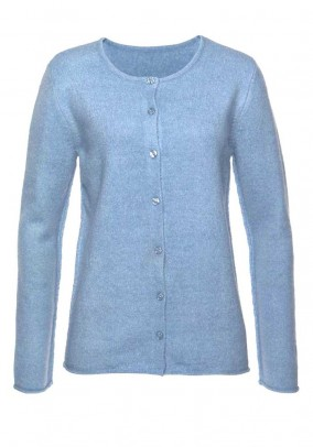 Mėlynas CHEER megztinis