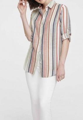 Dryžuoti lininiai marškiniai